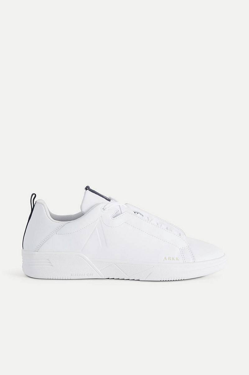 Sneakers Uniklass Leather S-C18 White Midnight-M