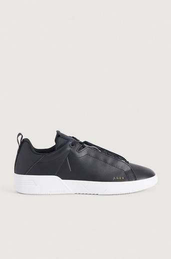Bilde av Arkk Copenhagen Sneakers Uniklass Leather S-c18 Black-m Svart