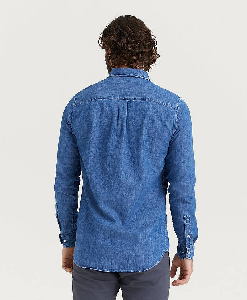 Jeansskjorta Vagrant Chambray Shirt