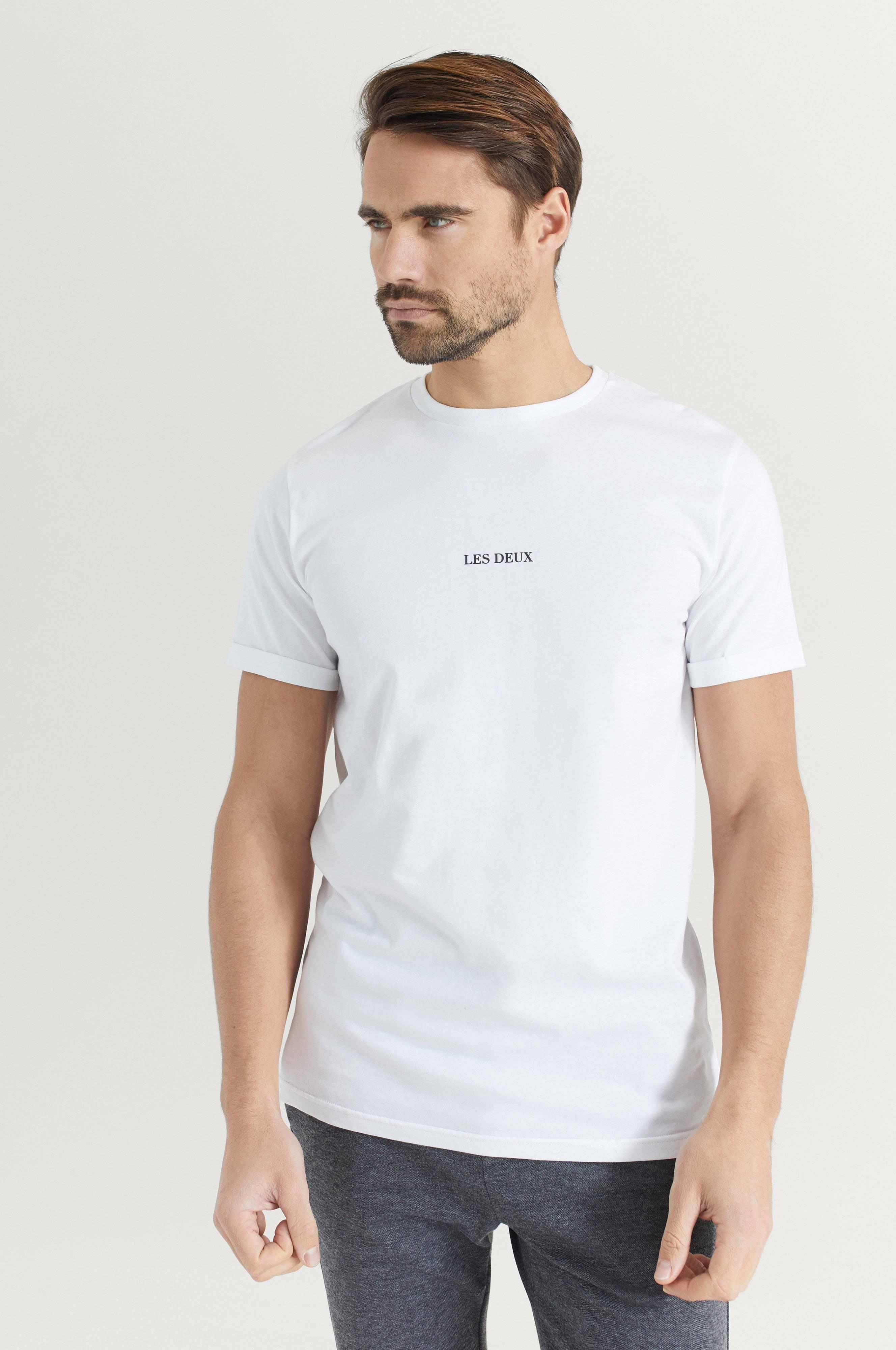 Les Deux T-Shirt Lens T-Shirt Vit