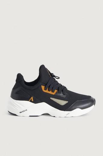 Bilde av Arkk Copenhagen Sneakers Apextron Mesh 2.0 W13 Black Khaki-m Svart