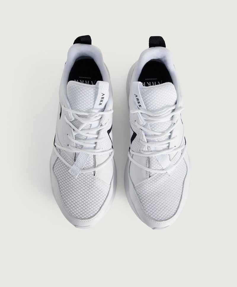 Sneakers Asymtrix Mesh F-PRO90 White Black-M
