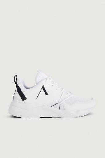 Bilde av Arkk Copenhagen Sneakers Asymtrix Mesh F-pro90 White Black-m Hvit