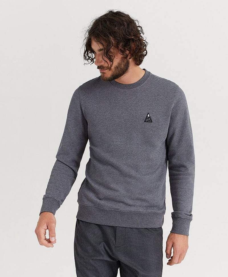 Sweatshirt Throw c-neck-Ring Loop Sweat