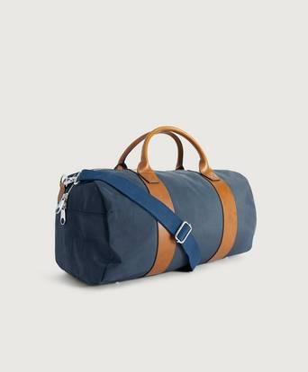 Steele & Borough Weekendbag Freedom duffle grand bleu Blå