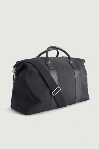 Steele & Borough Weekendbag Freedom weekender biker Svart