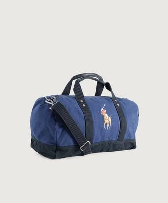 Ralph Lauren Weekendbag Multi PP duffelbag Blå