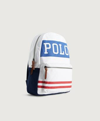 Polo Ralph Lauren Ryggsäck Cotton Canvas backpack Vit