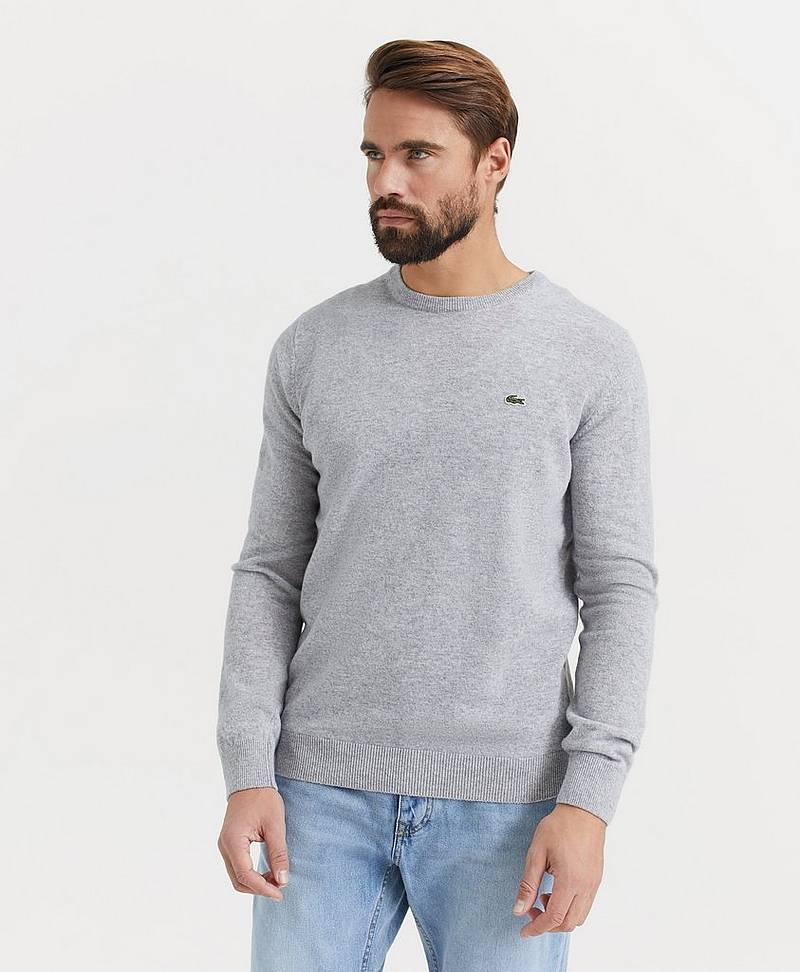 Genser Round Neck Wool Knit