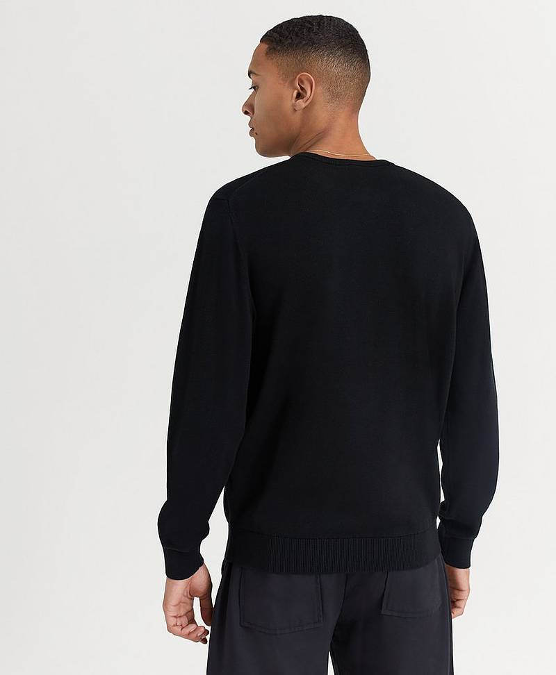 Round Neck Cotton Knit