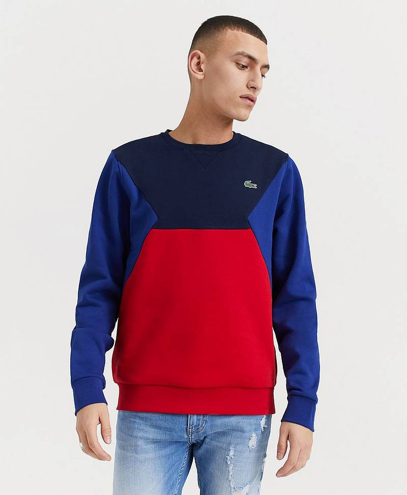 Sweatshirt Block Sweat
