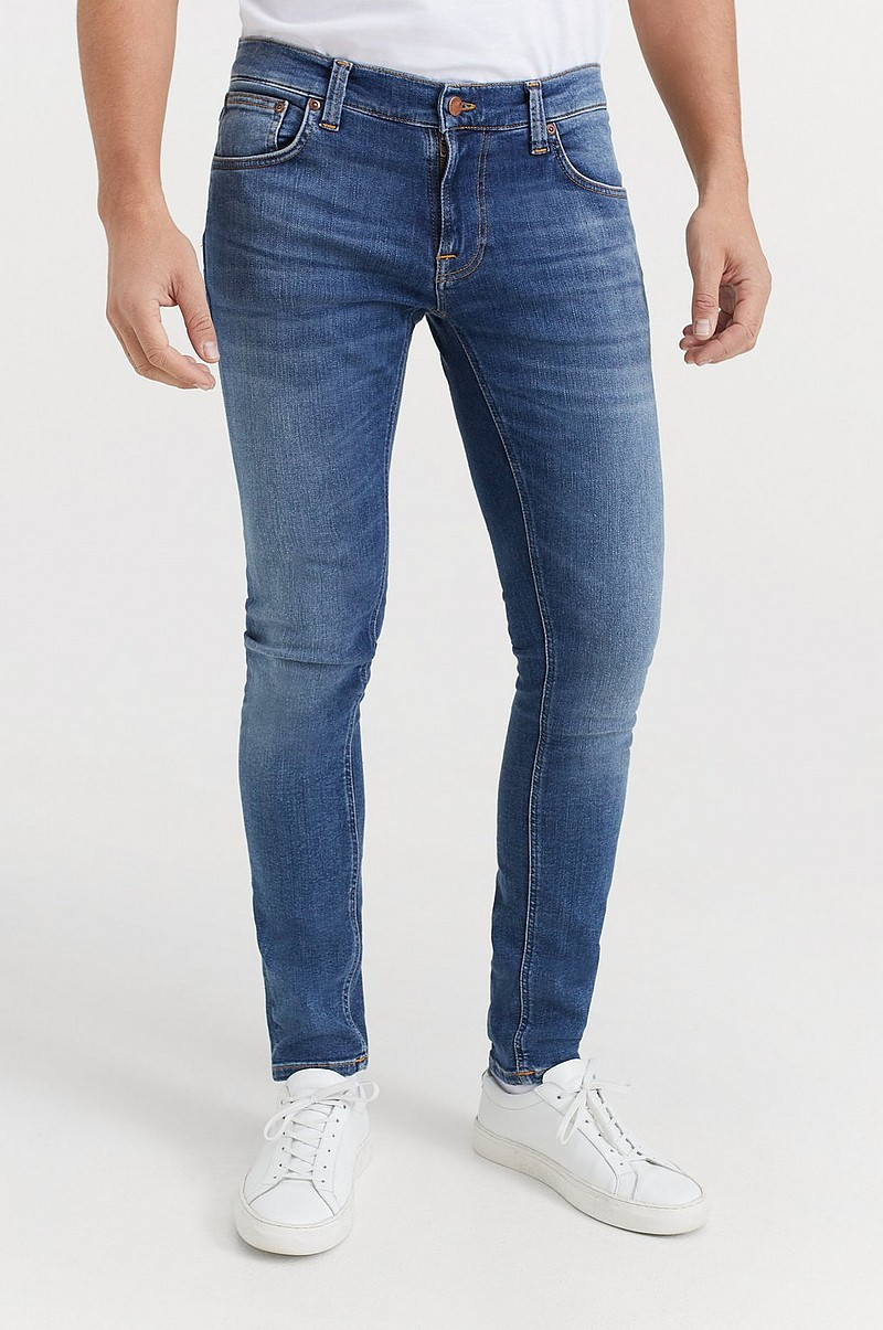 Jeans Tight Terry Steel Navy