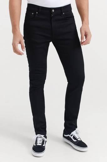 Nudie Jeans Jeans Lean Dean Dry Ever Black Svart