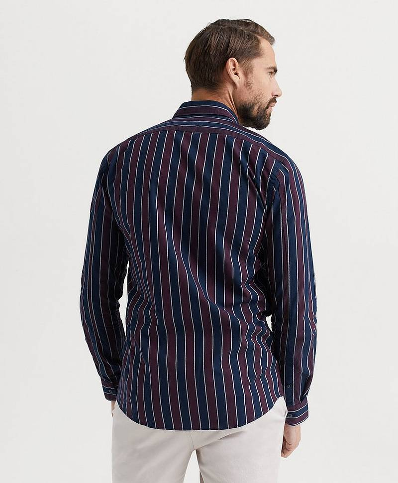 SKJORTE Stripe L/S Oxford shirt