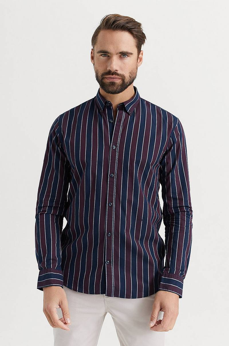 SKJORTA Stripe L/S oxford shirt