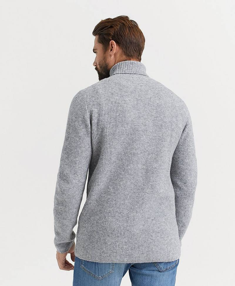 Pologenser Rib Roller Neck Jumper
