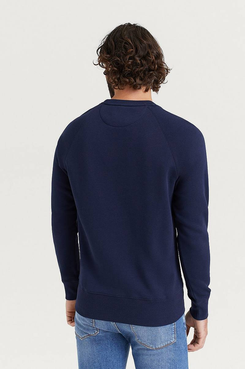 Sweatshirt D1 Gant Lock-Up C-neck Sweat