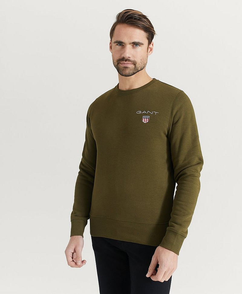 Sweatshirt Medium Shield Crew
