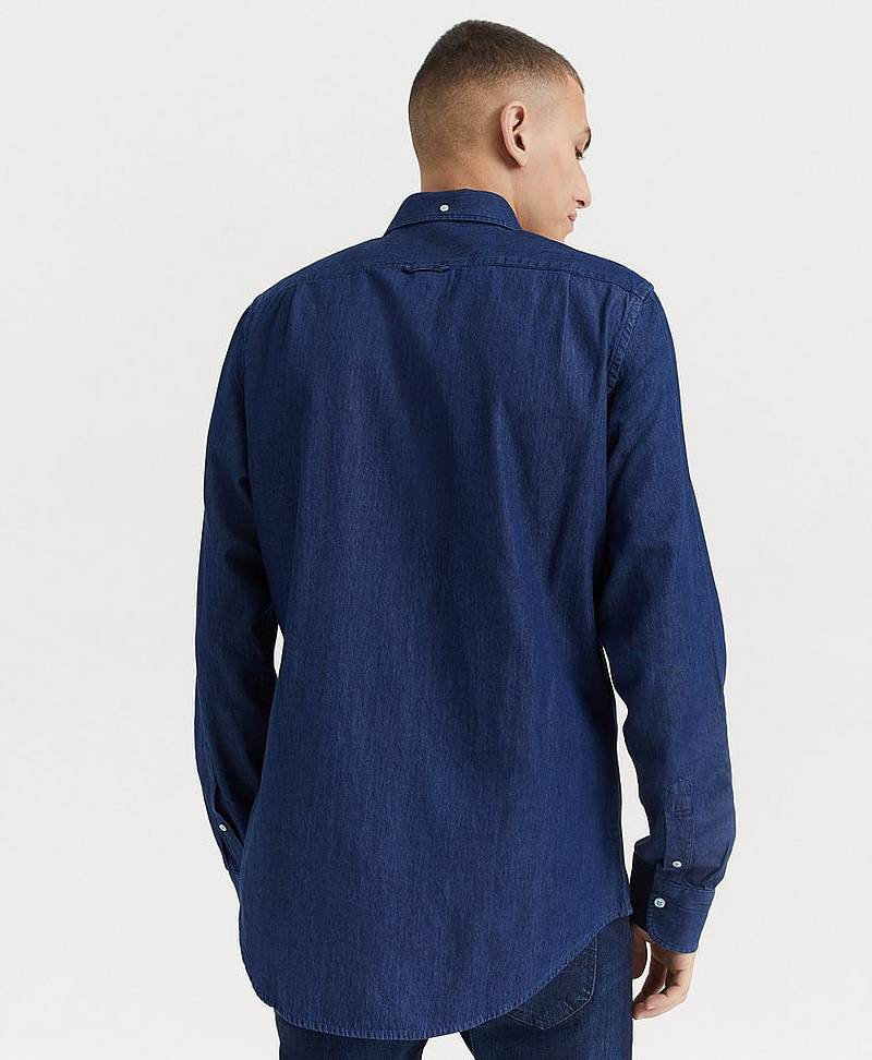 Jeansskjorte The Indigo Slim BD