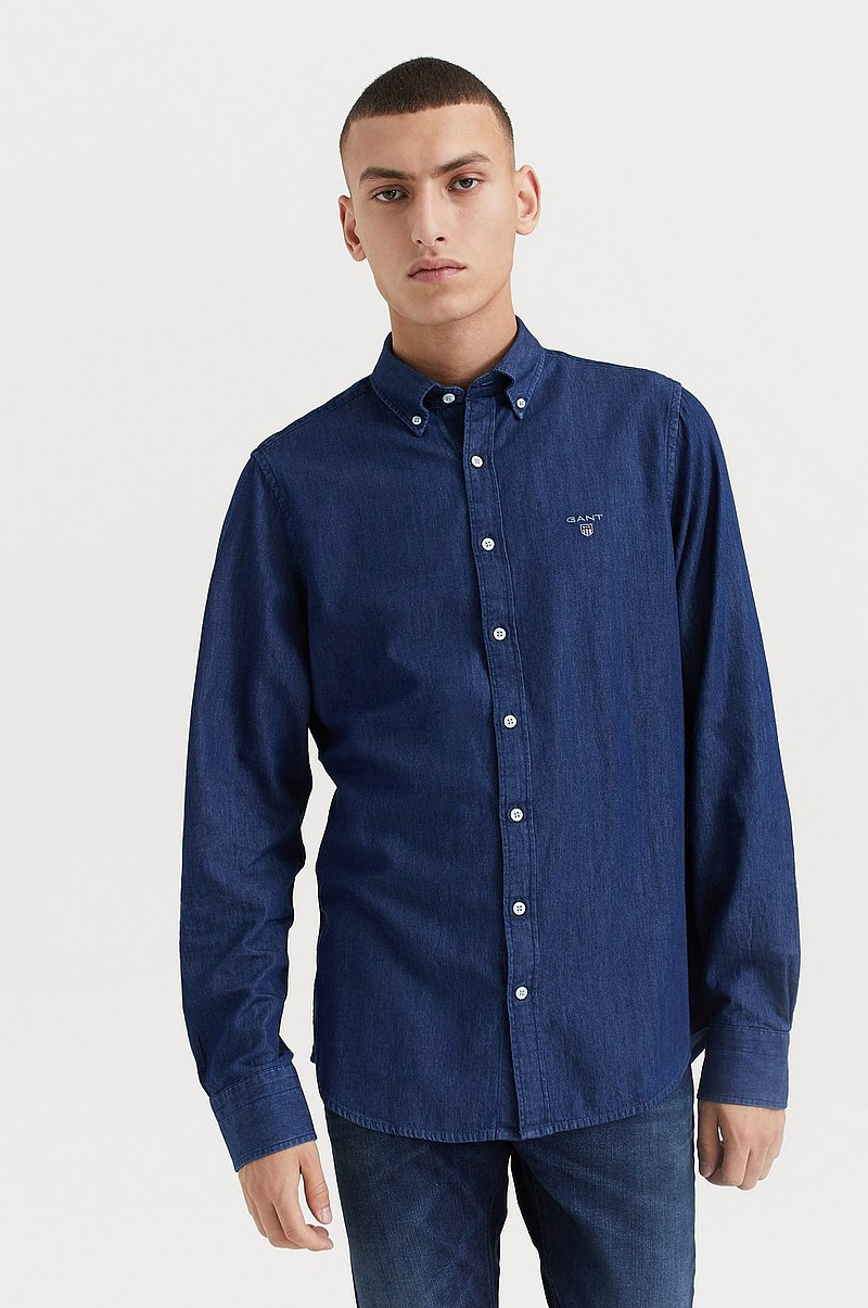 Jeansskjorta The Indigo Slim BD