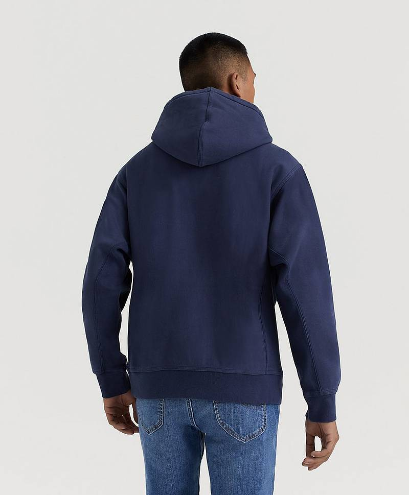 Hoodie Hooded American Script Sweat