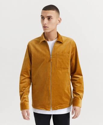 NN07 Skjorta Zip Shirt 1322 Brun