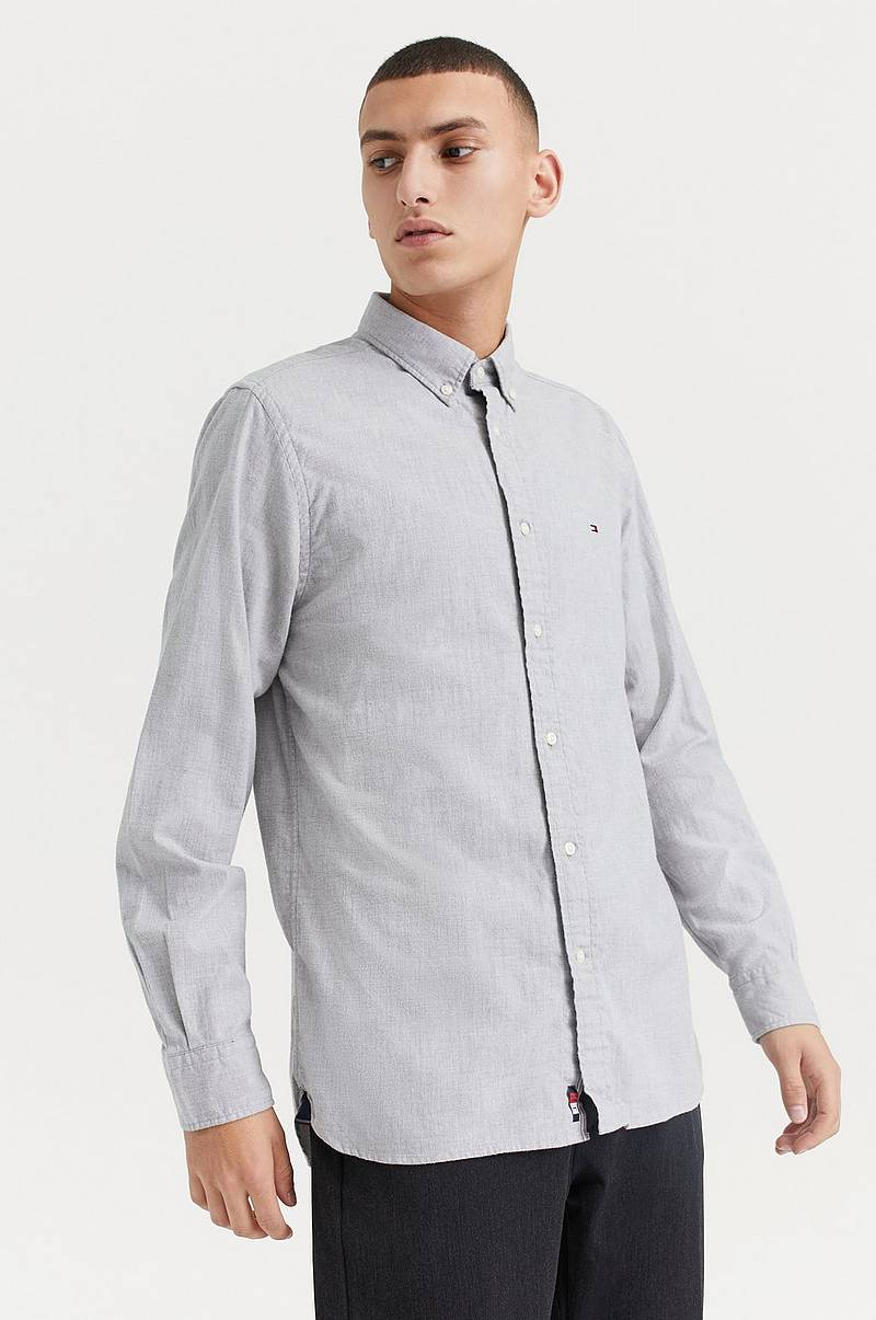 Skjorte Flex Herringbone Shirt