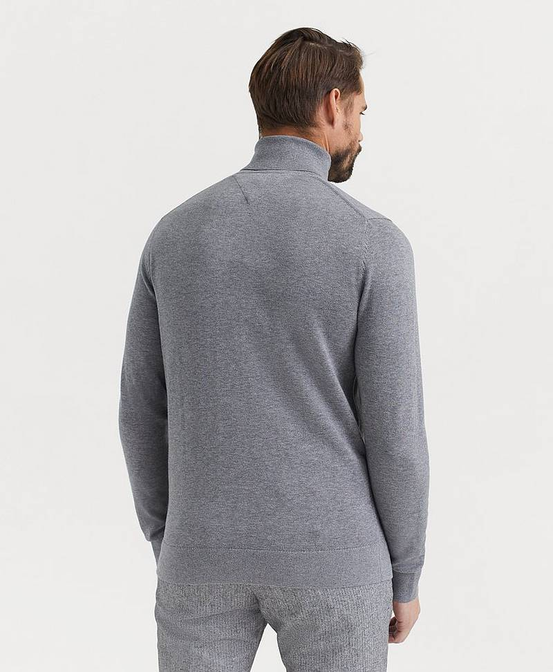 Pologenser Organic Cotton Silk Roll Neck