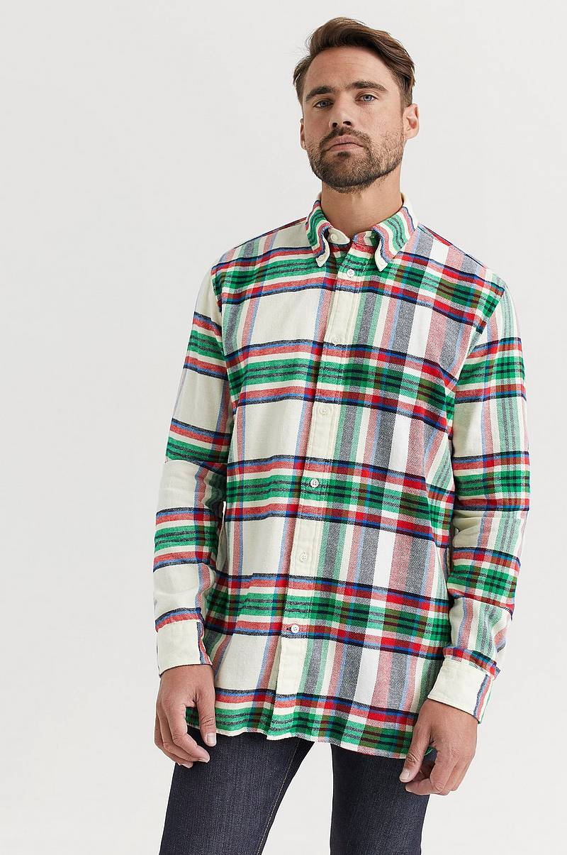 Skjorte Relaxed Blown Up Check Shirt