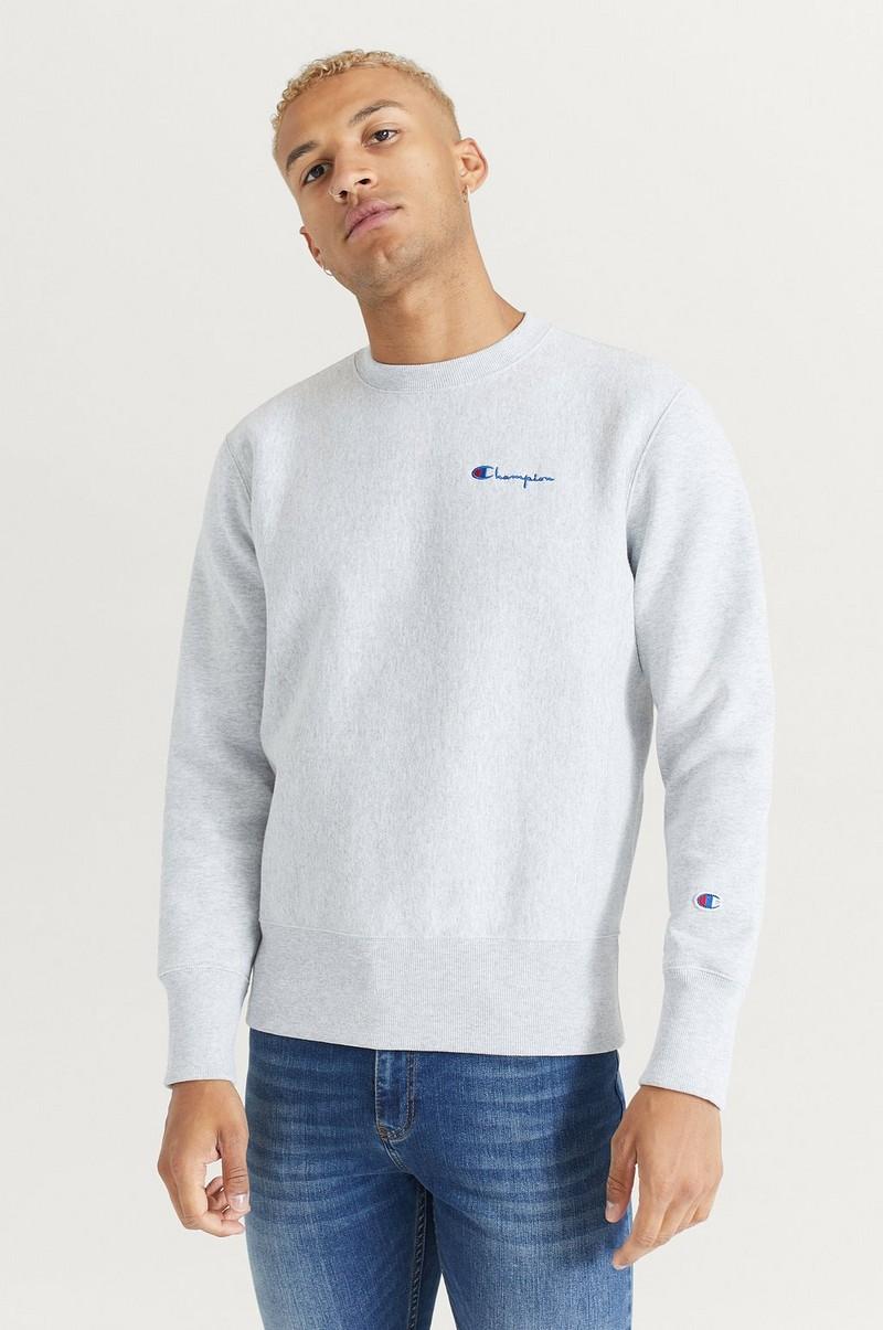 Champion Reverse Weave Sweatshirt Small Script Crewneck
