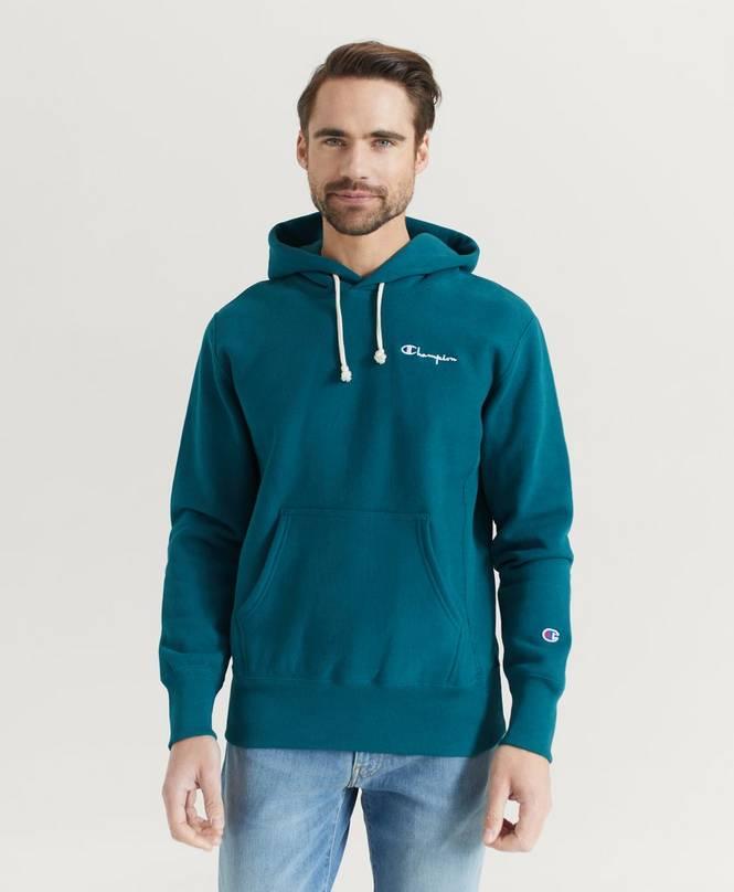 Huppari Small Script Hooded Sweatshirt