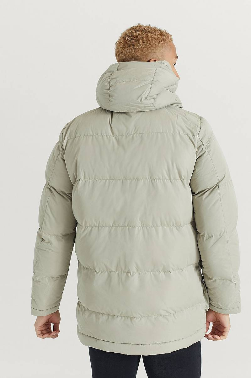 Jakke Long Hooded Puff Jacket