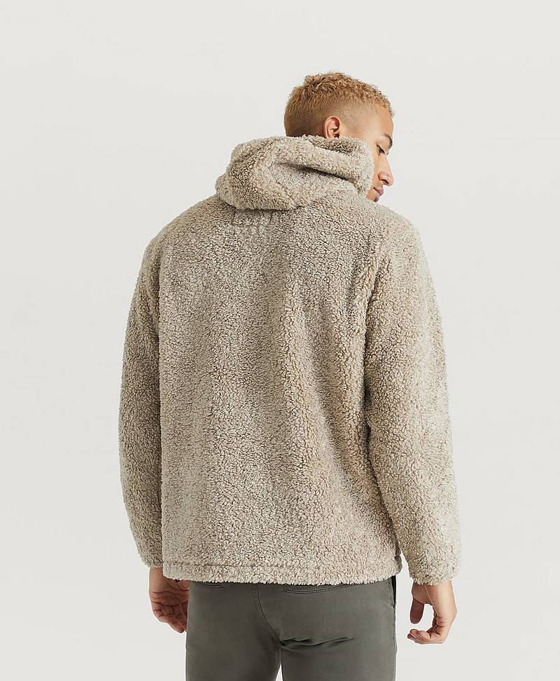 Jacka Fleece Hooded Slip-On Jacket