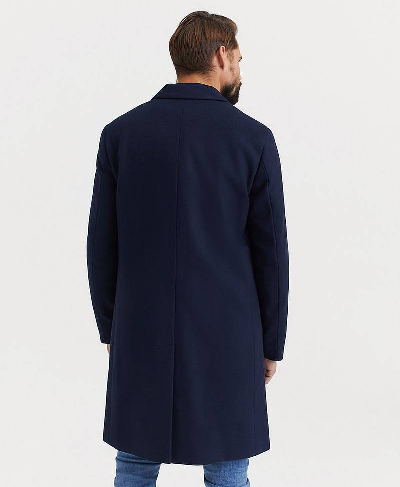 Rock Cashmere Wool Crombie Coat