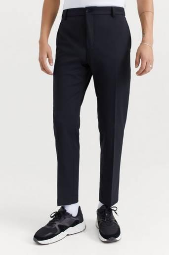 Calvin Klein Byxor Travel Bi-Stretch Twill Pant Svart