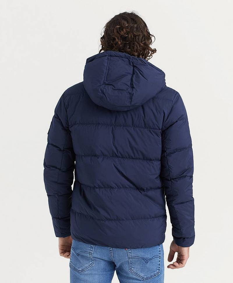 Hooded Down Puffer Jacket