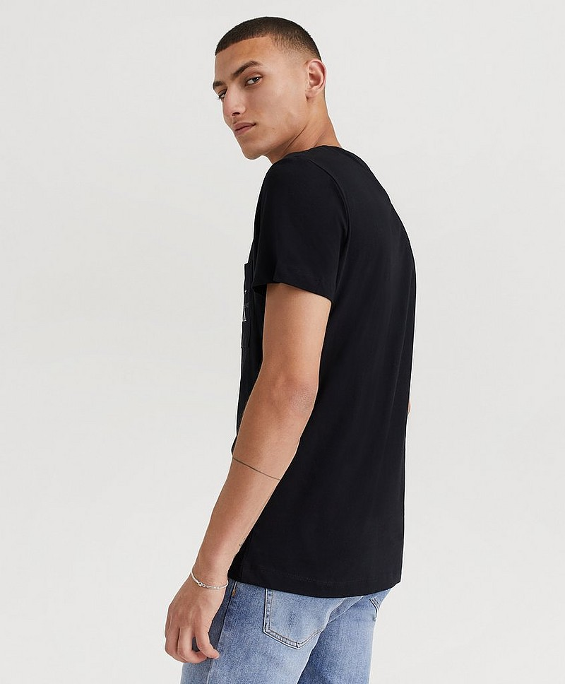 T-Shirt Monogram Pocket Slim SS Tee