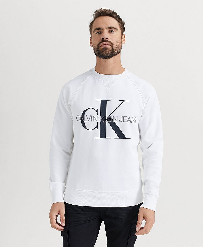 SWEATSHIRT Washed Reg Monogram CN