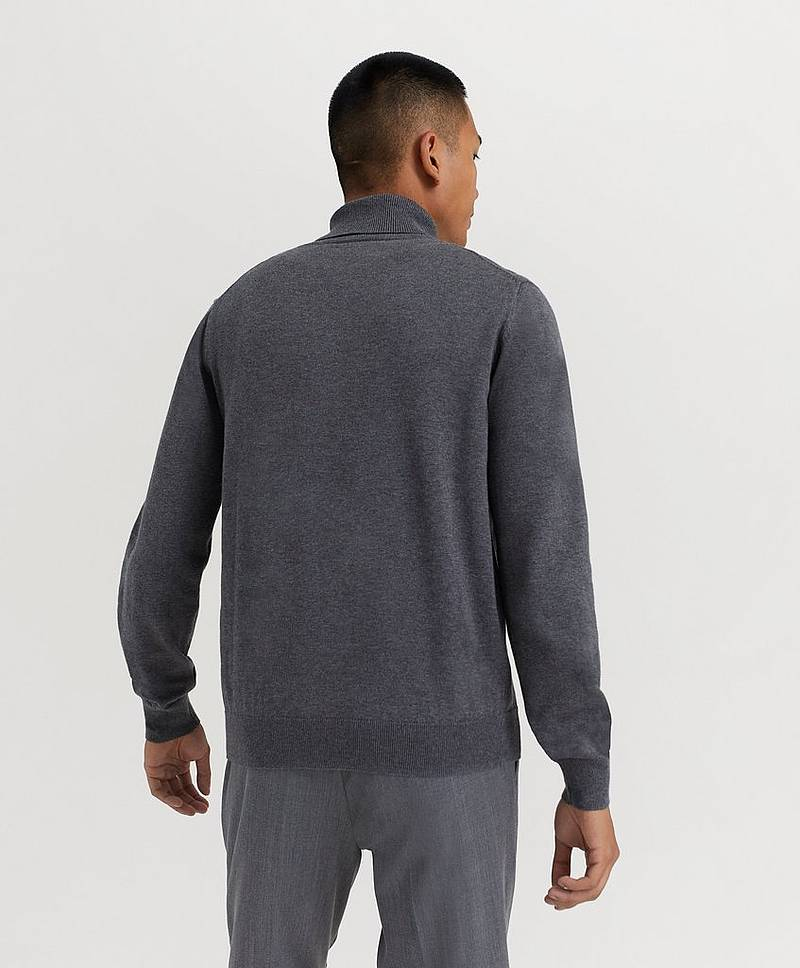 Light Weight Cotton Turtle Neck