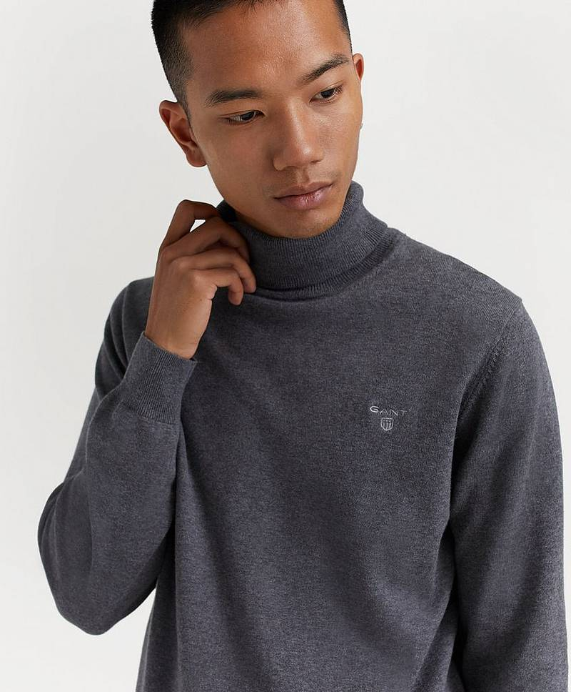 Pologenser Light Weight Cotton Turtle Neck