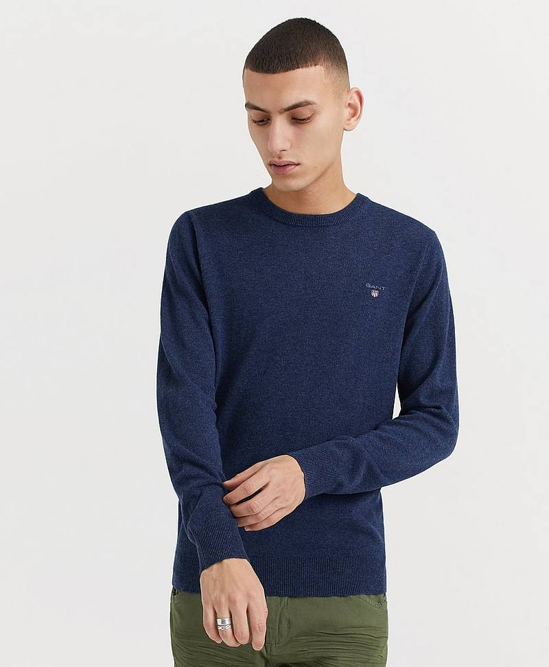 Genser Superfine Lambswool Crew