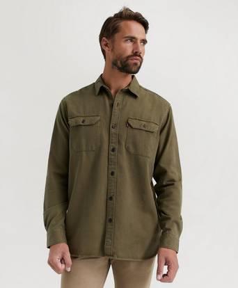 Levi's Skjorta Jackson Worker Grön