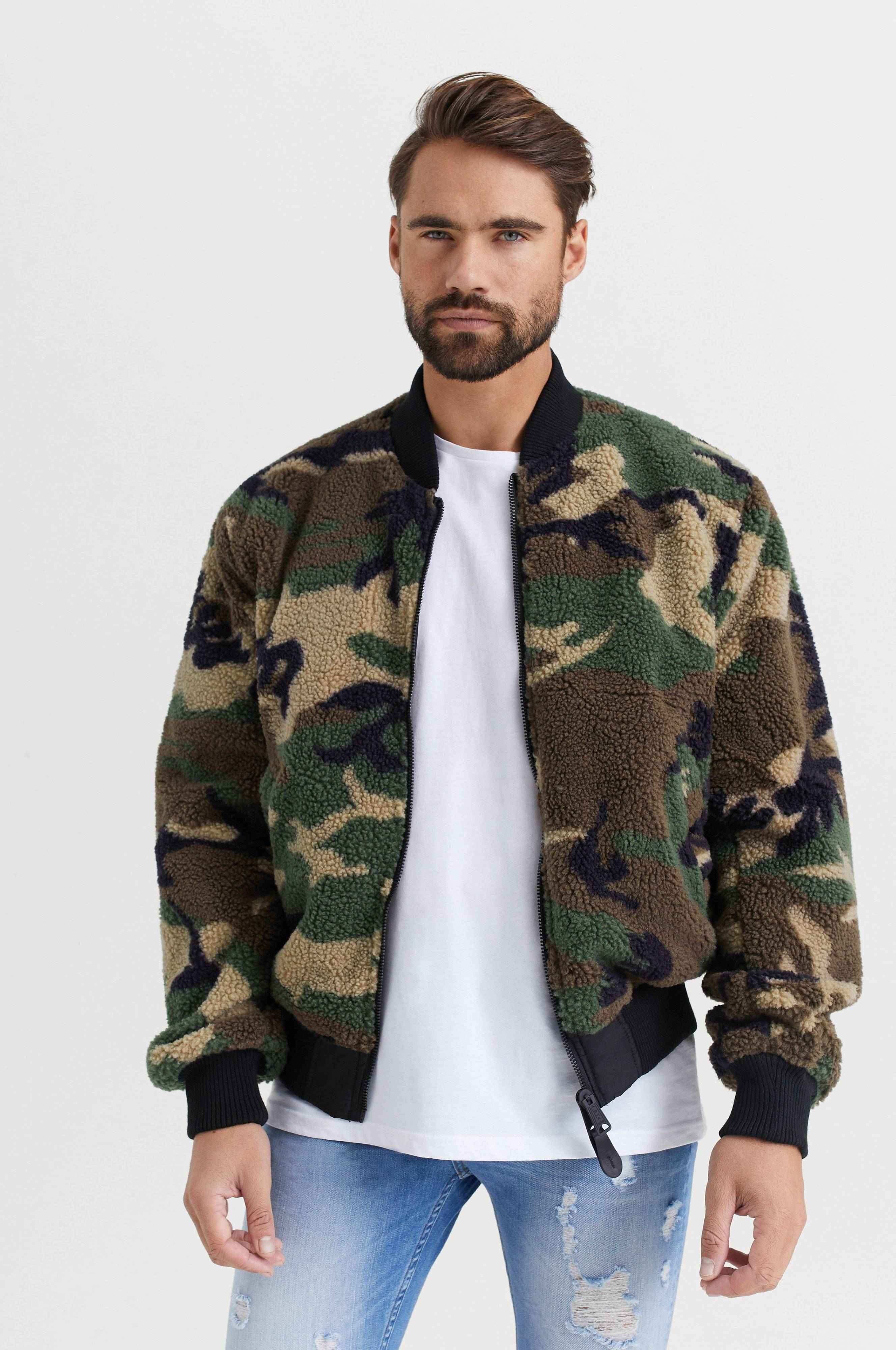 Alpha Industries JACKA Ma-1 FLC Rev Svart