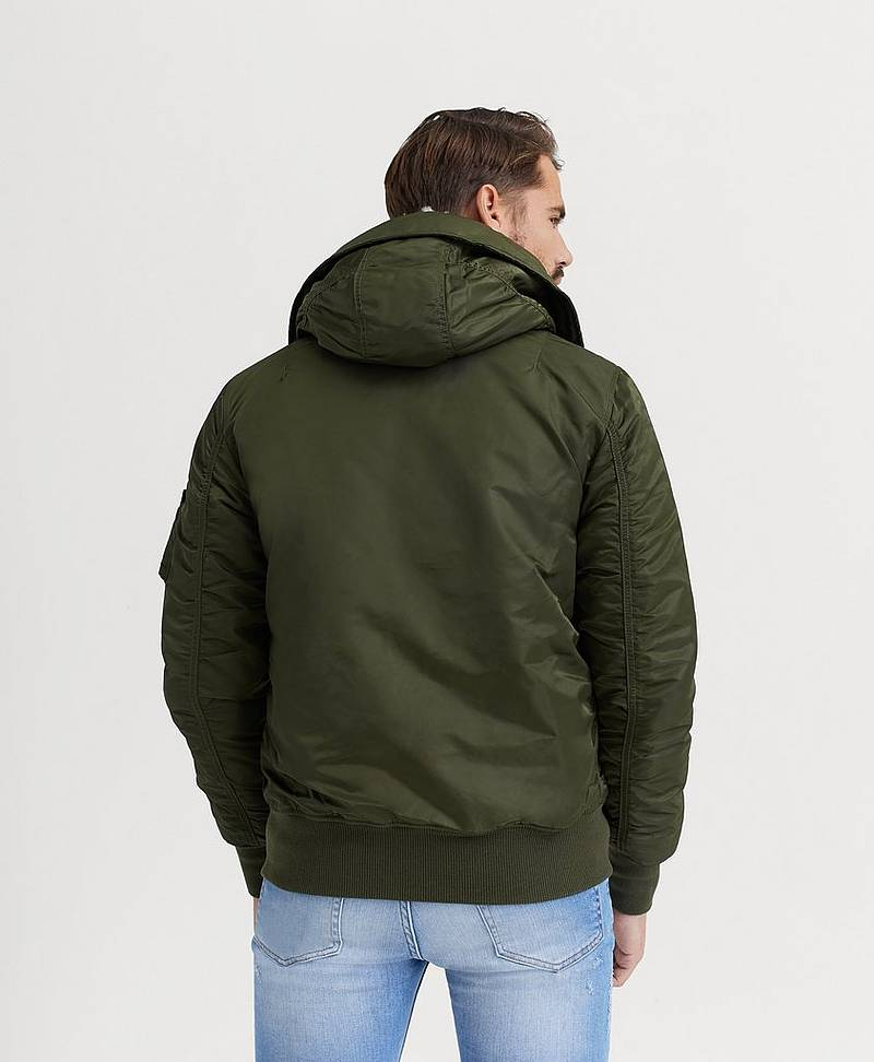 JAKKE Ma-1 Hooded
