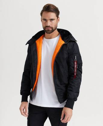 Bilde av Alpha Industries Jakke Ma-1 Hooded Svart