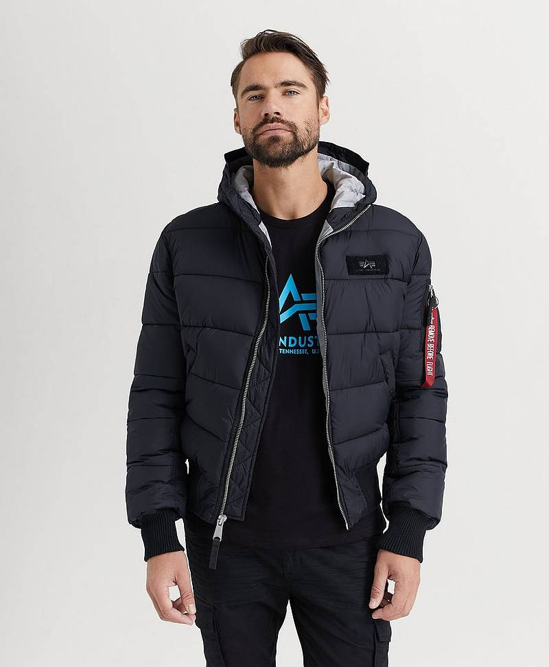 Jakke Hooded Puffer FD V