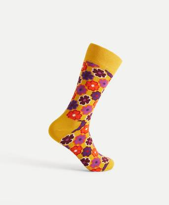 Happy Socks Flower Power Sock Multi