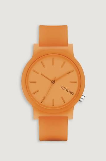Komono Klocka Mono Neon Orange Glow Orange