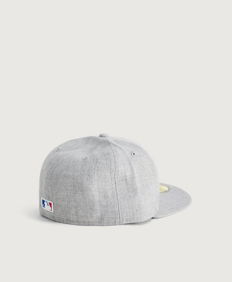 KEPS Heather Gray 59Fifty Bosred