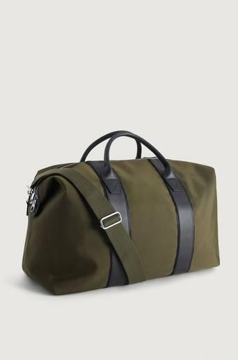 Steele & Borough Weekendbag The Weekender Grön